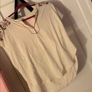 Madewell White blouse 👚